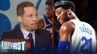 Chris Broussard reacts to Joel Embiid's comments about 76ers offseason | NBA | FIRST THINGS FIRST