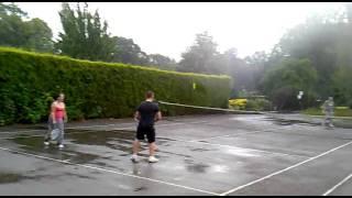 Tenis na mokro.