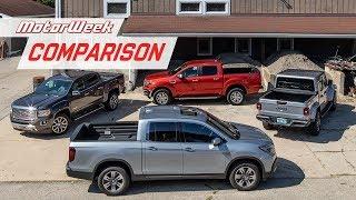 2019 Midsize Pickup Truck Comparison