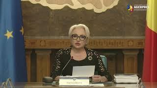 Dăncilă: Transporturile, energia sau mediul - de interes pentru România privind portofoliul viitorului comisar european