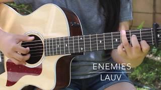 Enemies - Lauv - Fingerstyle Guitar Cover (+ TABS)