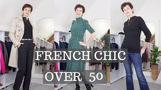 🇫🇷 FRENCH CHIC OVER 50⎢DRESS YOUNGER FOR WOMEN OVER 50⎢FRENCH CAPSULE WARDROBE