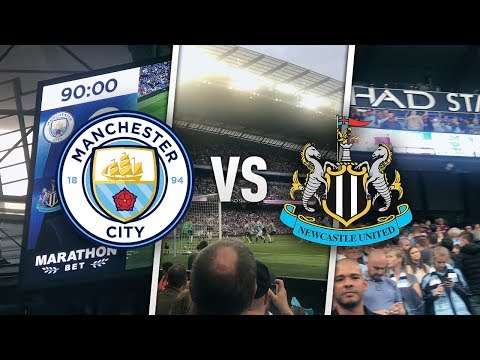 MAN CITY vs NEWCASTLE VLOG!