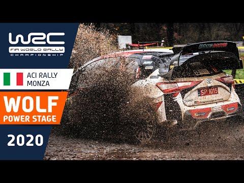 WRC第7戦ラリー・モンツァ パワーステージのハイライト動画