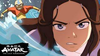 Katara & Aangs Best Waterbending Moments! | Avatar