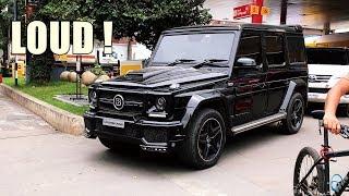 Black on Black BRABUS G63 - LOUD SOUNDS & ACCELERATIONS