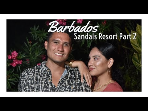 Sandals Barbados | Butler Suite all inclusive Part 2