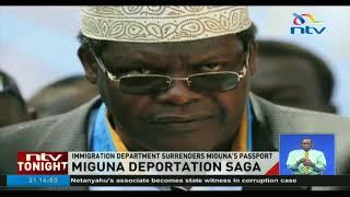 Miguna's passport surrendered to court - VIDEO