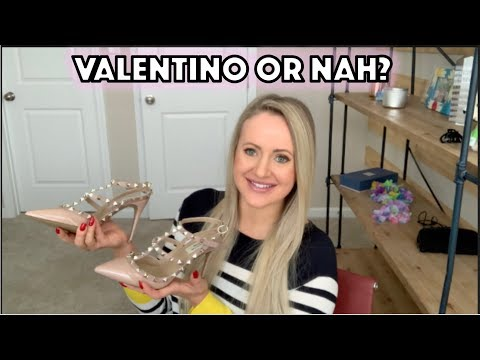 UNREAL Valentino Rockstud Dupe!!!!!!  Kaitlyn Pan Studded Heels Review
