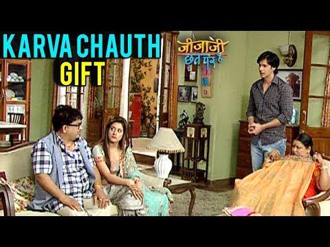 Pancham Karwa Chauth Gift To Elaichi in Jijaji Chh
