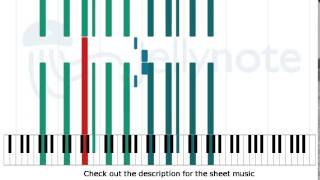 My Body Is a Cage - Arcade Fire [Piano Sheet Music]