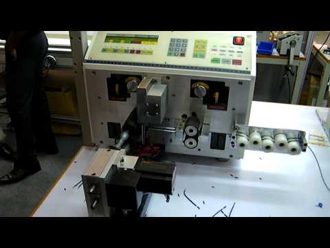 Wire Cut and Strip Machine