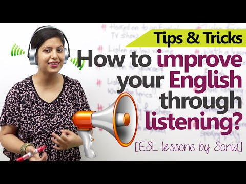 10 ways to improve your English through Listening - Free Spoken ...