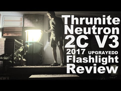 New for 2017 Thrunite Neutron 2C v3 Flashlight Review- USB Charging, Infinite Dimming Solutions