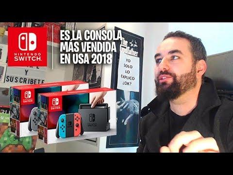 Nintendo Switch Oficialmente es la consola más vendida de Estados Unidos en 2018