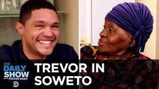 """Download Video Trevor Chats with His Grandma About Apartheid and Tours Her Home, """"MTV Cribs""""-Style 