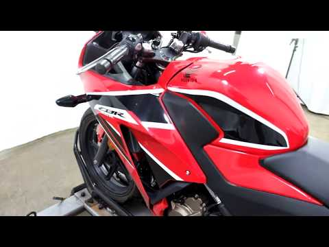 2017 Honda CBR300R in Eden Prairie, Minnesota - Video 1