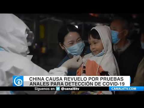 China causa revuela por pruebas anales para detección de COVID-19