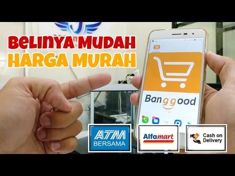 Cara Belanja di Banggood 2019 melalui Transfer Bank, Alfamart dan COD