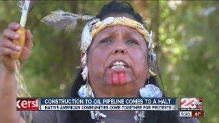 Local Native American community shows support for North Dakota
