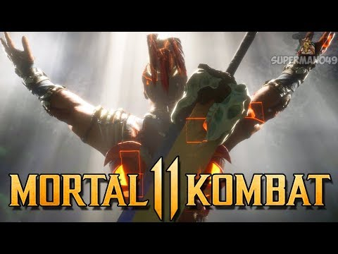 "Insane 60% Combo With Kotal Kahn! - Mortal Kombat 11: ""Kotal Kahn"" Gameplay"