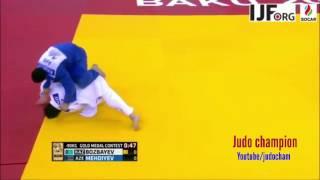 Grand Slam Baku 2017 Final BOZBAYEV, Islam (KAZ) MEHDIYEV, Mammadali (AZE) -90kg