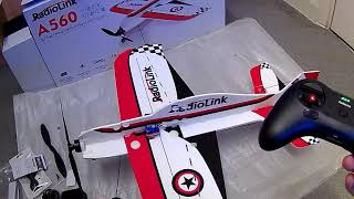 RADIOLINK A560 3D STUNT R/C PLANE
