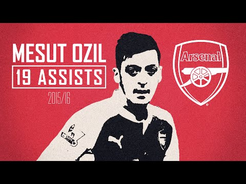 Mesut Ozil – King of the assists