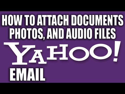 How to Attach a File in Yahoo Mail 2016