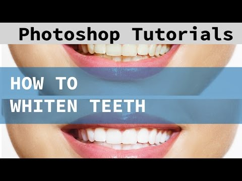 Learn How To Whiten Teeth In Photoshop Cc And Cs6 Photoshop