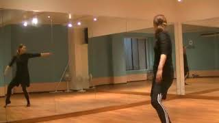 ⾹⾳先⽣のダンス講座~ クロスステップの練習~のサムネイル画像