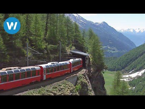 Vamos dar uma volta no espetacular Bernina Express!