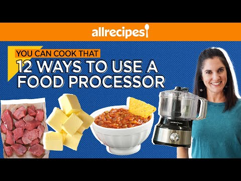 12 Easy Ways to Use a Food Processor | Kitchen Essentials | You Can Cook That