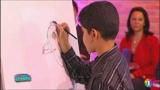 Réda, 10 ans, ou la passion du dessin - 10/05/2011