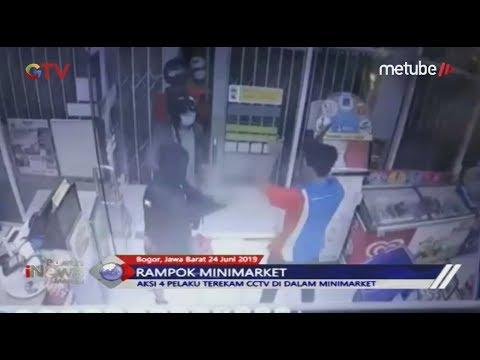 Polisi Bekuk 11 Rampok Minimarket dengan Senjata Tajam di Bogor - BIM 24/06