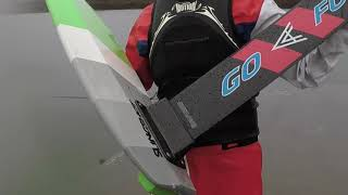 GoFoil Carbon Adapter Hood River Foil Pump Track