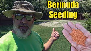 Planting Bermuda Grass Seed