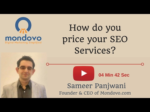How do you price your SEO Services?
