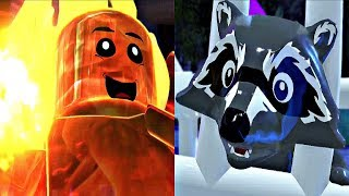 LEGO The Incredibles 2 - Jack Jack VS Racoon Full Fight