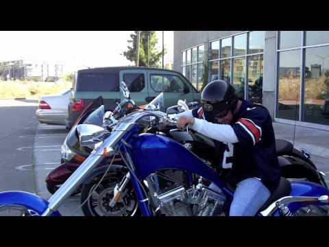 Arlen Ness test ride