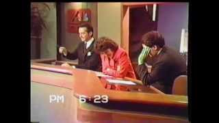 Behind the scenes of a Doug Lessells sportscast at NBC-4, Columbus in 1992.  Also 1988, off the air