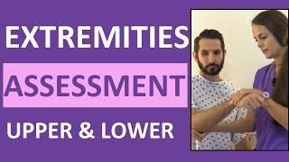 Upper & Lower Extremities Assessment Nursing | Upper, Lower Extremity Examination