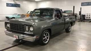 SOLD!!!!    SHORT BED 1978 DODGE D100 RESTOMOD PICKUP!  COOL AND CLEAN TRUCK!!