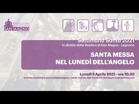 In diretta streaming dalla Basilica di Legnano la messa nel Lunedì dell'Angelo