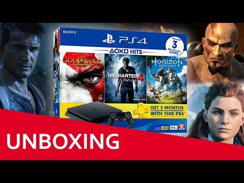 UNBOXING | PS4 SLIM BUNDLE HITS 2 | ¡AL FIN!