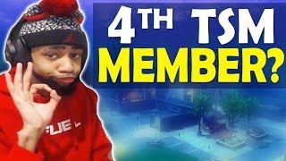 4TH TSM MEMBER?   TOURNAMENT GAME   HIGH KILL FUNNY GAME - (Fortnite Battle Royale)