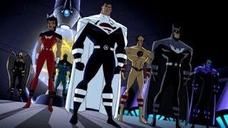 Justice League Vs Justice Lords Full Fight Scene HD