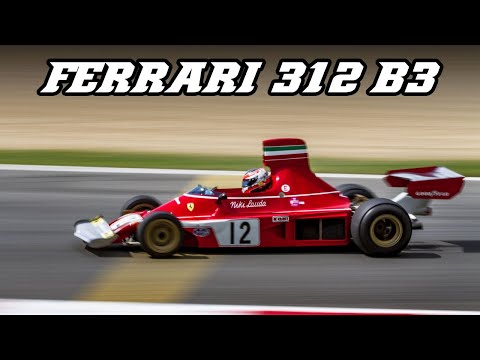 1974 Ferrari 312 B3 driven on the limit