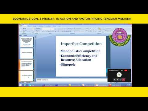 CON. & PROD.TH. IN ACTION AND FACTOR PRICING-(ENGLISH MEDIUM) By - KUMARI PRATIMA YADAV