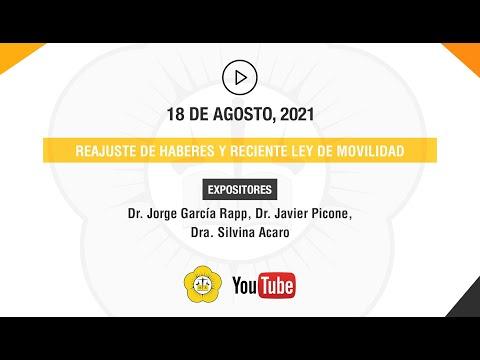 REAJUSTE DE HABERES Y RECIENTE LEY DE MOVILIDAD - 18 de Agosto 2021